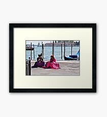 what's a girl got to do to get some attention around here? Framed Print