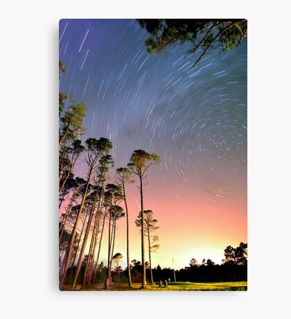 Outer Banks Night Canvas Print