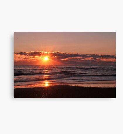 Sunrise in Rodanthe Canvas Print