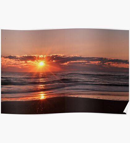 Sunrise in Rodanthe Poster
