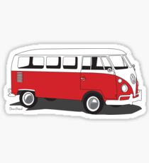 Kombi freedom Sticker