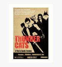 Quentin Tarantino directs Thunder Cats Art Print