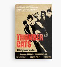 Quentin Tarantino directs Thunder Cats Metal Print