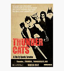Quentin Tarantino directs Thunder Cats Photographic Print