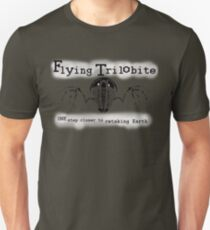Flying Trilobite - One step closer to retaking Earth Unisex T-Shirt