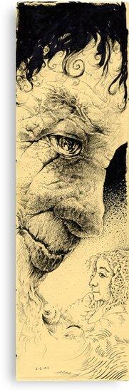 Treeish Man by Judah  Fansler