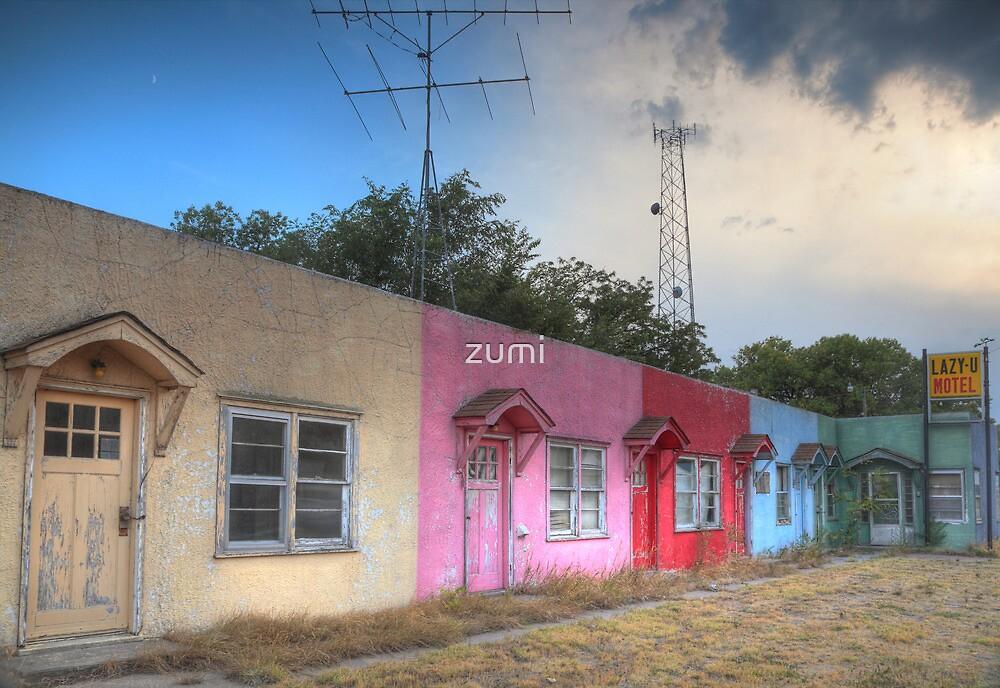 Lazy U Motel by zumi