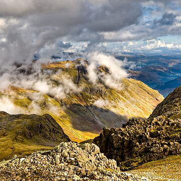 The Langdale Pikes - Cumbria by davidlewins