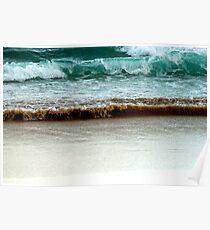 Breaking Surf Poster