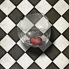 chequered whimsy iphone4 by Melanie Moor