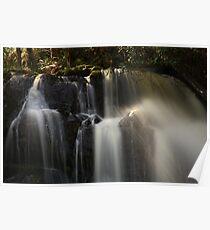 upper lilydale falls, northeast tasmania Poster
