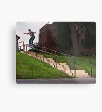 Josh Harmony 50-50, photo by Joe Hammeke Metal Print