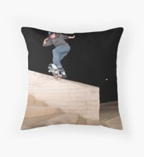 Josh Kalis SW Back Tail, AZ, Photo by Joe Hammeke Throw Pillow