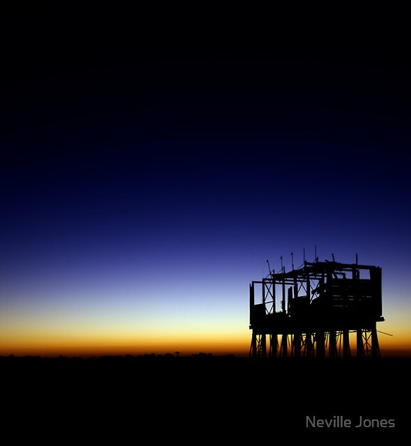 Gypsum Hopper by Neville Jones