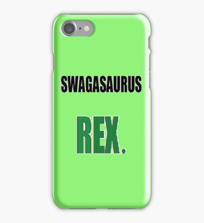 Swagasaurus Rex iPhone Case/Skin