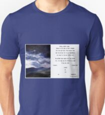 Gedig sonder naam T-Shirt