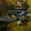 Glade Creek Grist Mill by Laura  Knight