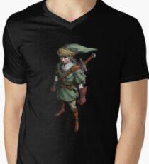 Hipster Link Men's V-Neck T-Shirt