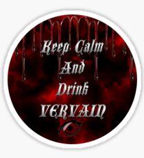 Vampire Diaries Logo Stickers | Redbubble