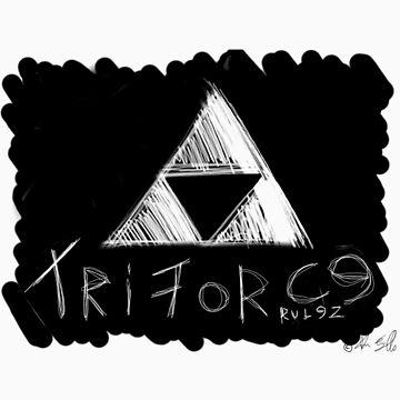 Triforce Rulez! by timscrivello
