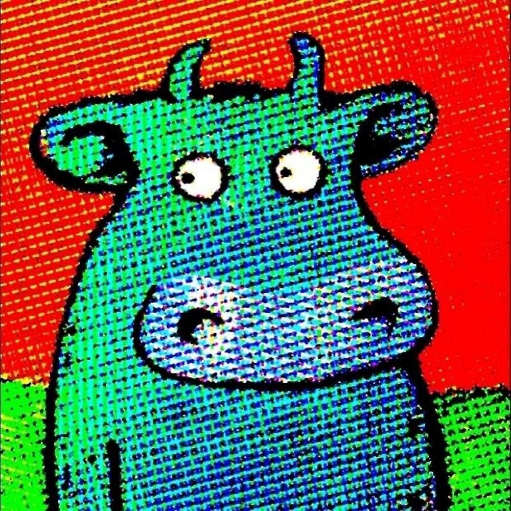 THIS COW IS A HIT by paulvolker