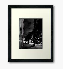 Noir El Framed Print