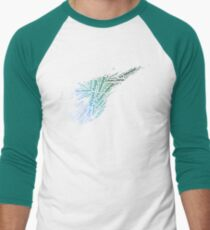 Final Fantasy VII logo One-Winged Angel Men's Baseball ¾ T-Shirt