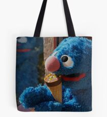 Hungry Grover Tote Bag