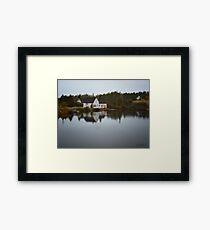 Grand River Cape Breton Nova Scotia Canada Framed Print