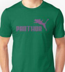 Panthor brand athletic footwear logo Unisex T-Shirt