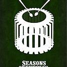 Twelve Drummers Drumming by CogsandCards