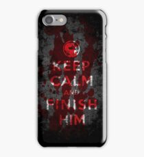 Keep Calm and Finish Him iPhone 7 Case
