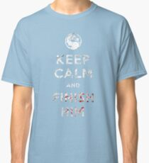 Keep Calm and Finish Him Classic T-Shirt