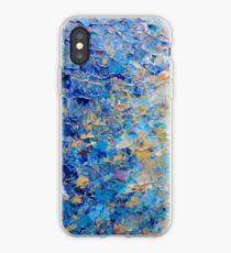 HYPNOTIC BLUE SUNSET - Simply Beautiful Royal Blue Navy Turquoise Aqua Sunrise Abstract Nature Decor iPhone Case