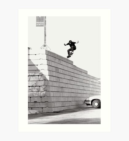 JUB-mega drop in Chicago by Andrew Hutchison Art Print