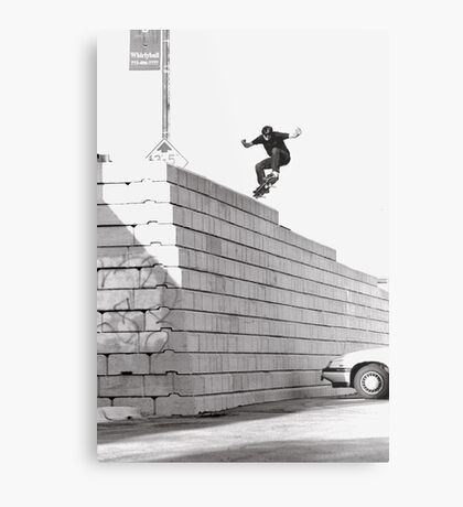 JUB-mega drop in Chicago by Andrew Hutchison Metal Print