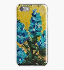 SHADES OF BLOOM - Stunning Acrylic Floral Abstract Modern Home Decor Hyacinths Bold Color Garden  iPhone Case/Skin