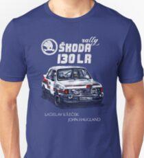 Rally Group B-Škoda 130 LR Unisex T-Shirt