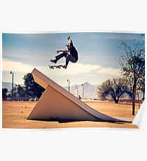 Ray Barbee - 360 Flip - Arizona - Photo Aaron Smith Poster