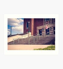 Dan Lutheran - 50-50 - Kansas City - Photo Aaron Smith Art Print