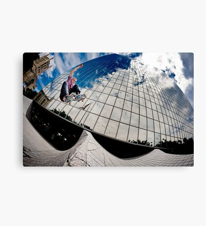 John Fitzgerald - Ollie - Los Angeles - Photo Aaron Smith Canvas Print