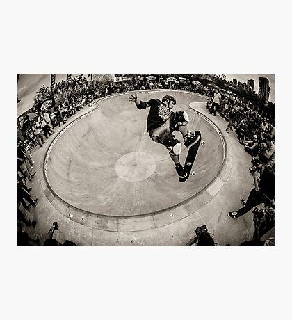 Christian Hosoi - Air - New York - Photo Aaron Smith Photographic Print