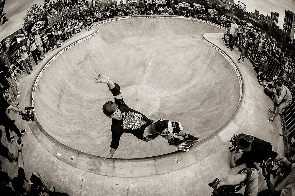 Christian Hosoi - Layback Smith Grind - New York - Photo Aaron Smith by Reggie Destin Photo Benefit Page
