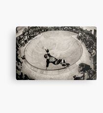 Christian Hosoi - Layback Smith Grind - New York - Photo Aaron Smith Metal Print