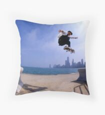 Patrick Melcher-Chicago photo by Andrew Hutchison Throw Pillow