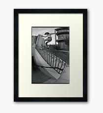 Steve Fauser-Chicago Photo Andrew Hutchison Framed Print