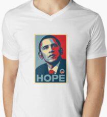Obama Mens V-Neck T-Shirt