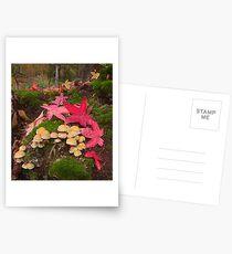 Autumn Floor Postcards