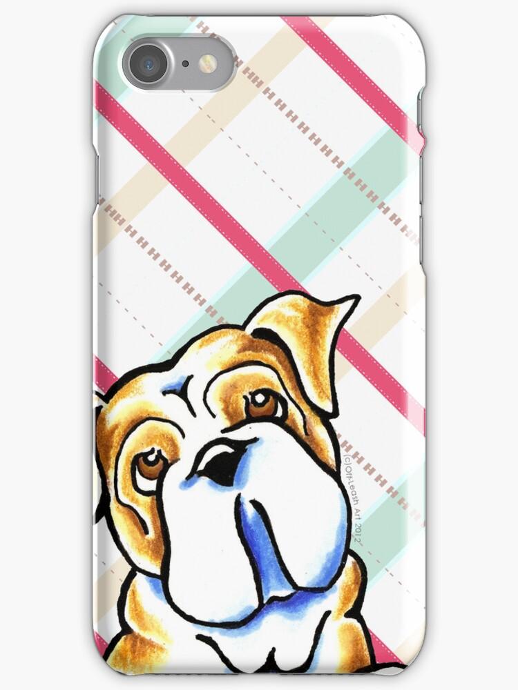 Bulldog Sugar Plum Dreams by offleashart