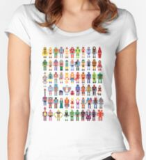 8-bit Masters Women's Fitted Scoop T-Shirt
